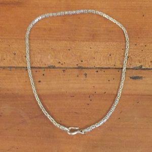 """Vintage Sterling 16"""" necklace — 24 grams"""